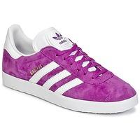 Sapatos Mulher Sapatilhas adidas Originals GAZELLE Violeta