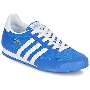 Sapatos Rapaz Sapatilhas adidas Originals DRAGON J Azul