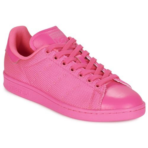 3bfcdb3c8f2 adidas Originals STAN SMITH Rosa - Entrega gratuita com a Spartoo.pt ...