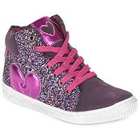 Sapatos Rapariga Sapatilhas de cano-alto Agatha Ruiz de la Prada BUSOULI Violeta