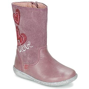 Sapatos Rapariga Botas Agatha Ruiz de la Prada BIGI Rosa