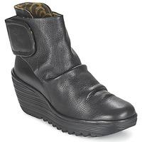 Sapatos Mulher Botins Fly London YEGI Preto