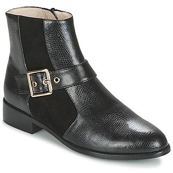 Sapatos Mulher Botas baixas Mellow Yellow ALDANA Preto