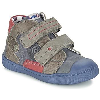 Sapatos Rapaz Botas baixas Mod'8 KINZO Marinho / Cinza