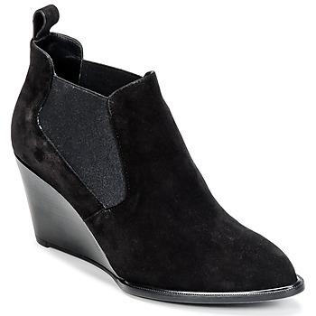 Sapatos Mulher Botas baixas Robert Clergerie OLAV Preto