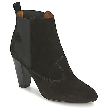 Sapatos Mulher Botins Heyraud DAISY Preto