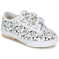Sapatos Criança Sapatilhas Feiyue FE LO SNOOPY EC Branco