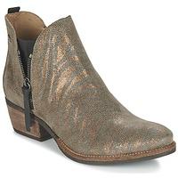Sapatos Mulher Botas baixas Coqueterra LIZZY Ouro