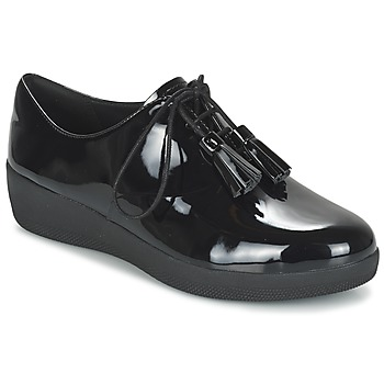 Sapatos Mulher Sapatos FitFlop CLASSIC TASSEL SUPEROXFORD Preto