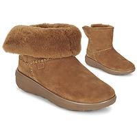 Sapatos Mulher Botas baixas FitFlop SUPERCUSH MUKLOAFF SHORTY Avelã