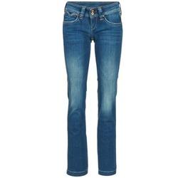 Textil Mulher Calças Jeans Pepe jeans BANJI Azul