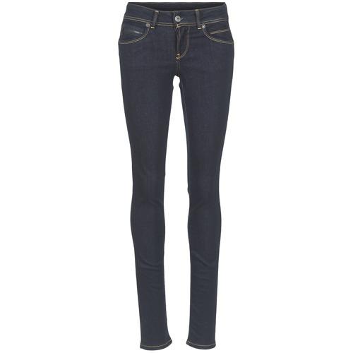 Textil Mulher Calças de ganga slim Pepe jeans NEW BROOKE Azul