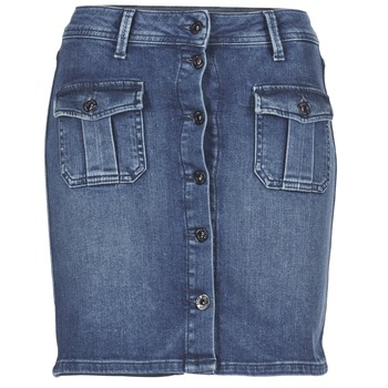 Textil Mulher Saias Pepe jeans SCARLETT Azul