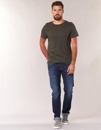 Textil Homem Calças Jeans Pepe jeans CASH Azul / Escuro