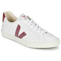 Sapatos Sapatilhas Veja ESPLAR Branco / Vermelho