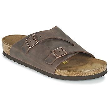 Sapatos Chinelos Birkenstock ZURICH Castanho