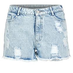 Textil Mulher Shorts / Bermudas Yurban EVANUXE Azul / Claro