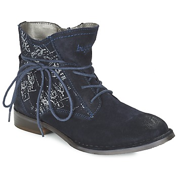 Sapatos Mulher Botas baixas Bugatti LEEALE Marinho