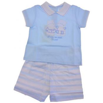 Textil Criança Macacões/ Jardineiras Chicco  Azul