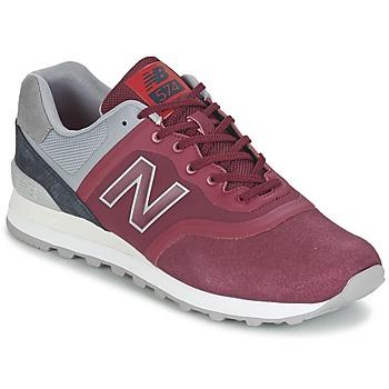 Sapatos Sapatilhas New Balance MTL574 Vermelho / Cinza