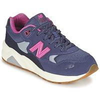 Sapatos Rapariga Sapatilhas New Balance KL580 Violeta / Rosa