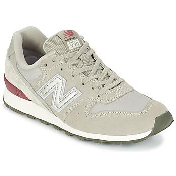 Sapatos Mulher Sapatilhas New Balance WR996 Cinza