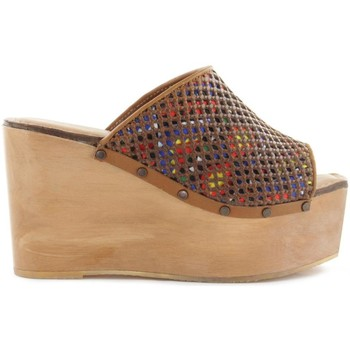 Sapatos Mulher Chinelos Cubanas Soca Plum110
