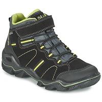 Sapatos Rapaz Botas baixas Primigi JACKSON Preto / Verde