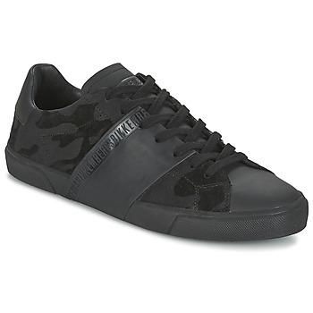 Sapatos Homem Sapatilhas Bikkembergs RUBBER CAMOUFLAGE Preto