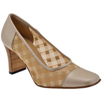 Sapatos Mulher Escarpim Bettina  Bege