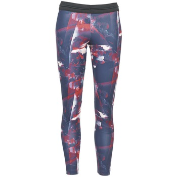 Textil Mulher Collants adidas Originals FLOWER TIGHT Azul / Rosa