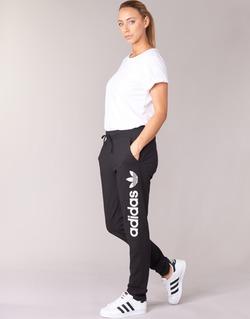 Textil Mulher Calças de treino adidas Originals LIGHT LOGO TP Preto