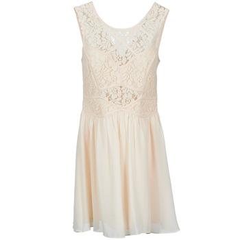 Textil Mulher Vestidos curtos BCBGeneration 617574 Bege