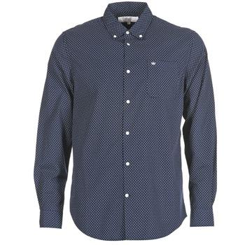 Textil Homem Camisas mangas comprida Vicomte A. JANOUPE Marinho