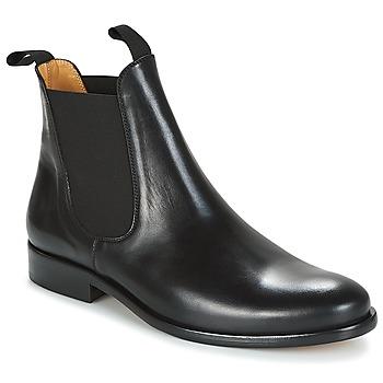 Sapatos Homem Botas baixas Brett & Sons LOUVAL Preto