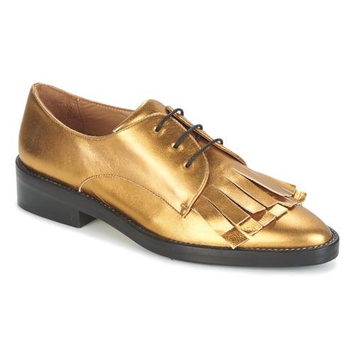 Sapatos Mulher Sapatos Castaner GERTRUD Ouro