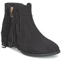 Sapatos Mulher Botas baixas Elue par nous VOPFOIN Preto