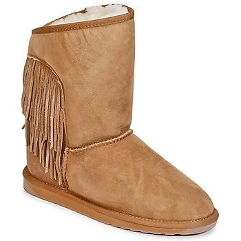 Sapatos Mulher Botas baixas EMU WOODSTOCK Castanho
