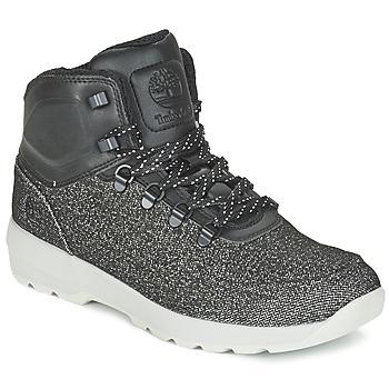 Sapatos Homem Botas baixas Timberland WESTFORD MID EMBOSS Preto / Cinza