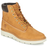Sapatos Mulher Sapatilhas de cano-alto Timberland KENNISTON 6IN LACE UP Bege