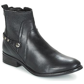 Sapatos Mulher Botas baixas Regard ROSARA Preto
