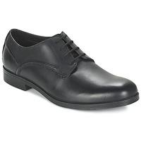 Sapatos Homem Sapatos Clarks BROCTON WALK Preto