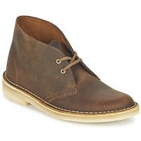 Sapatos Mulher Botas baixas Clarks DESERT BOOT Castanho