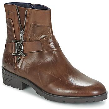 Sapatos Mulher Botas baixas Dorking NALA Castanho