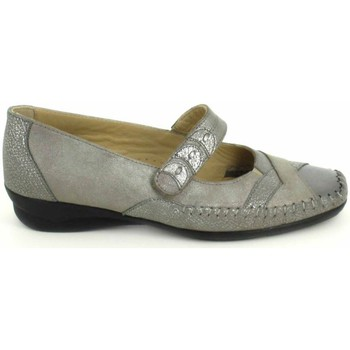 Sapatos Mulher Sabrinas Boissy Ballerine Lunel Gris Beige Cinza