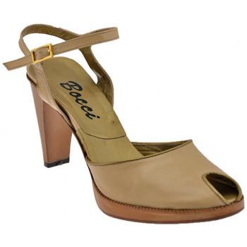 Sapatos Mulher Sandálias Bocci 1926  Bege