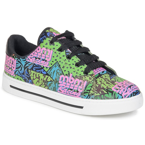 Sapatos Mulher Sapatilhas Marc by Marc Jacobs MBMJ MIXED PRINT Multicolor