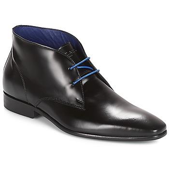 Sapatos Homem Botas baixas Azzaro JAVOY Preto