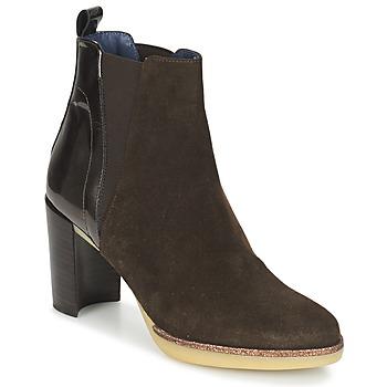 Sapatos Mulher Botins Spiral LUPE-1.3 Castanho