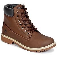 Sapatos Homem Botas baixas Fila MAVERICK MID Castanho